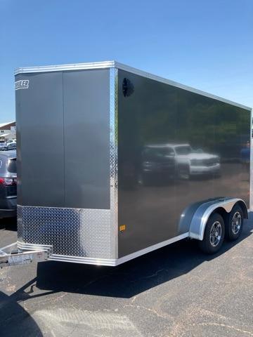 2021 E-Z Hauler 7'x14' Aluminum Enclosed Trailer