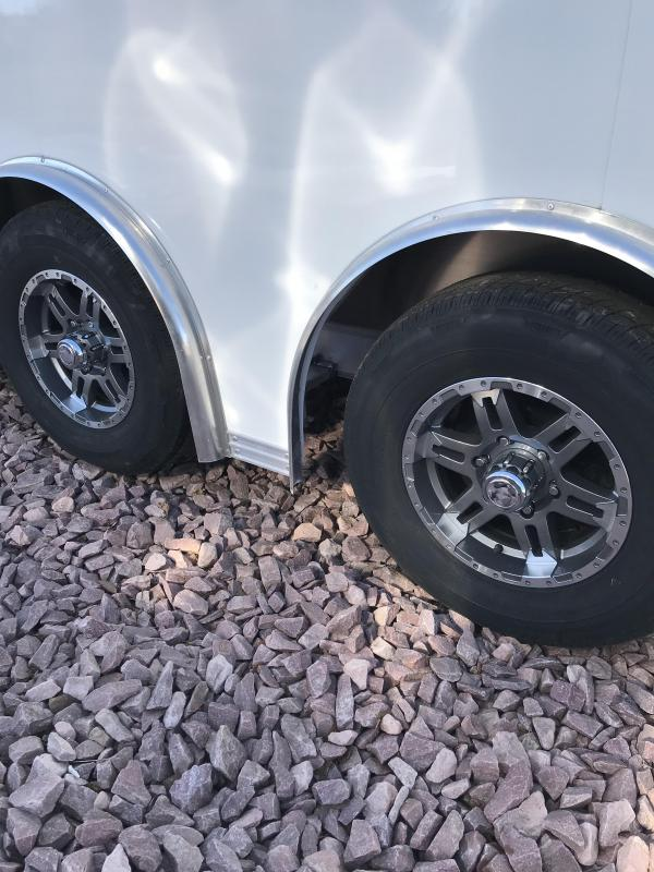 2020 EZ Hauler 8.5' x 24' Aluminum Car Hauler Car / Racing Trailer