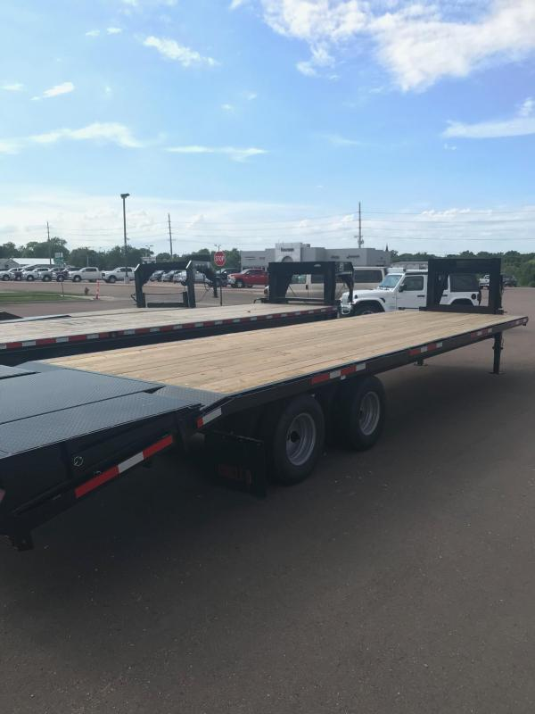 2020 Circle D HD Gooseneck Flatbed Trailer