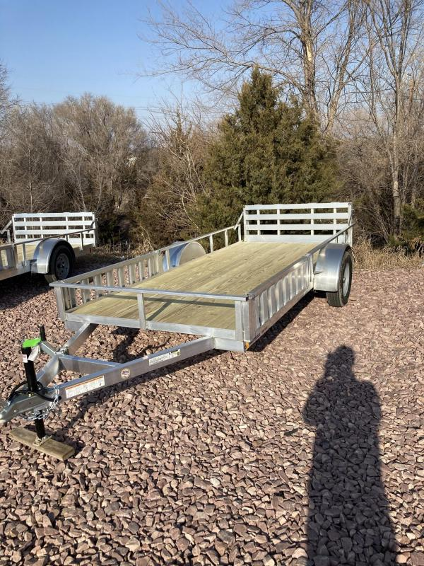 2021 Mission 6'x14' Open ATV / UTV Trailer