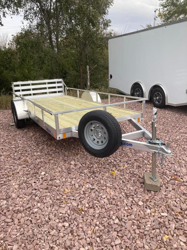 2021 Mission 6x14 Aluminum ATV/UTV Open Trailer