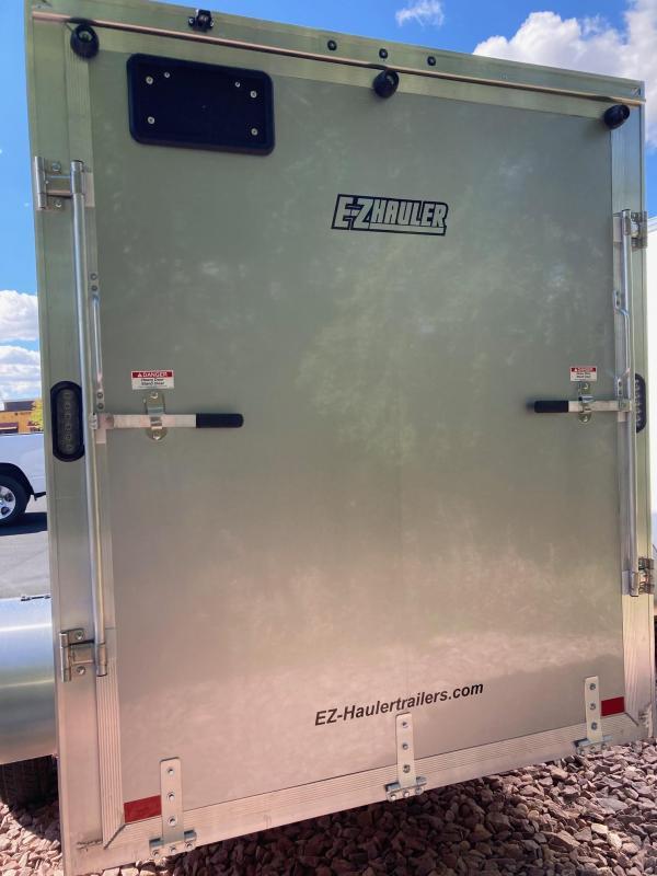 2022 EZ Hauler 6' x 12' Enclosed Aluminum Trailer Enclosed Cargo Trailer
