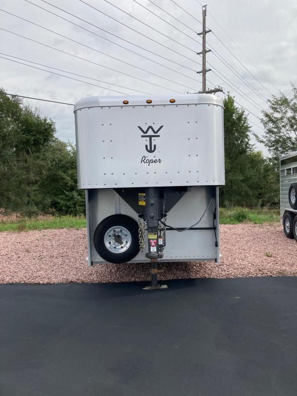2019 Wilson Trailer Company Roper 7' 26' Stock Combo Trailer