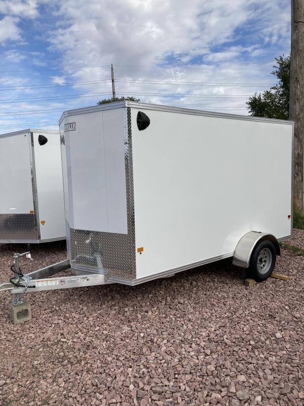 2021 EZ Hauler 6 x12 Aluminum Enclosed Trailer Enclosed Cargo Trailer