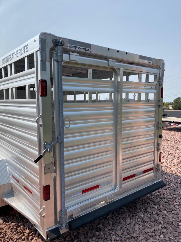 2022 Featherlite 8127 7'x20' Livestock Trailer