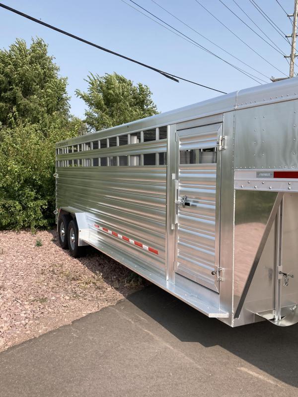 2021 Featherlite 7' x 24' 8127 Livestock Trailer