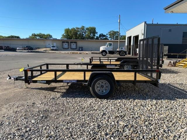 2021 Sure-Trac 6 x 12 Tube Top Utility Trailer  3K Idle