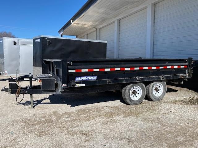 Rental - 2015 Sure-Trac 96 x 14 HD Deckover Dump w/ Fold-Down Sides Dump Trailer