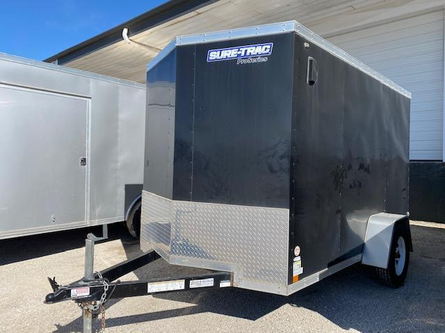 Rental - 2015 Sure-Trac 6 x 10 SA Pro Series Wedge Front Cargo Enclosed Cargo Trailer