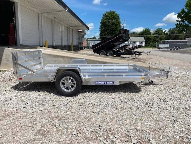 2020 Sure-Trac 78 X 12 Aluminum Low Side Utility  030