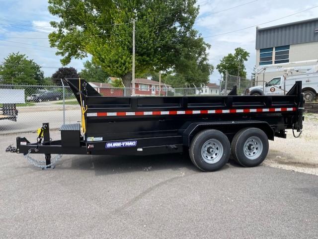 2021 Sure-Trac 82 IN x 14 HD Low Profile Scissor Dump Trailer