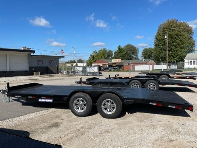 2022 Sure-Trac 7 x 20 (16+4) Steel Deck Car Hauler Trai