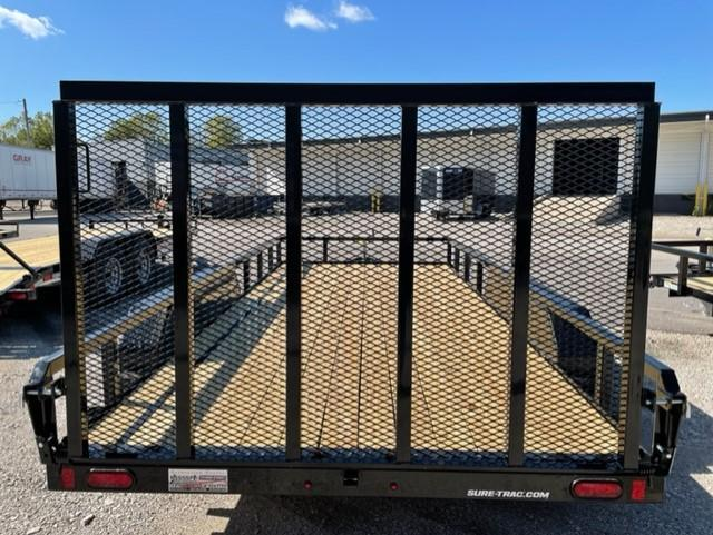 2022 Sure-Trac 7 x 16 Tube Top Utility Trailer  7K Tand