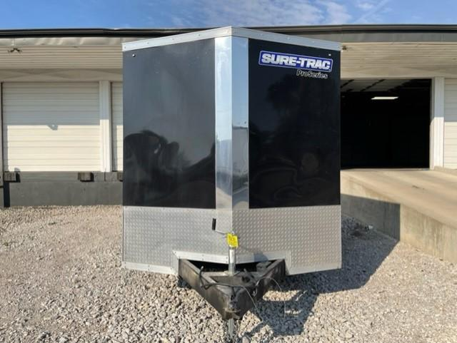 Used 2020 Sure-Trac 7x16 Wedge Enclosed Cargo 7K