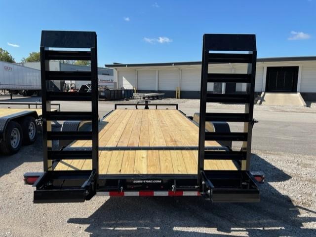 2022 Sure-Trac 7 x 18 (16+2) Equipment Trailer  14K