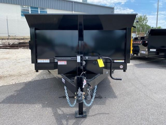 2021 Sure-Trac 82 IN x 14 HD Low Profile Dual Ram Dump Trailer