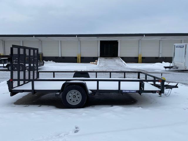 2021 Sure-Trac 7 x 14 Tube Top Utility Trailer  3K Idle