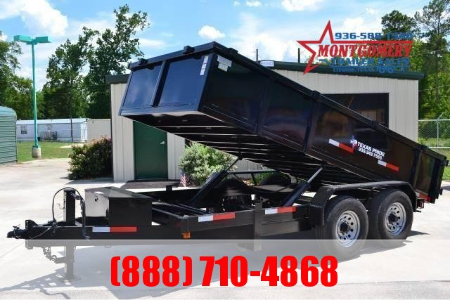 2020 TEXAS PRIDE 7ft. by 14ft. DUMP TRAILER