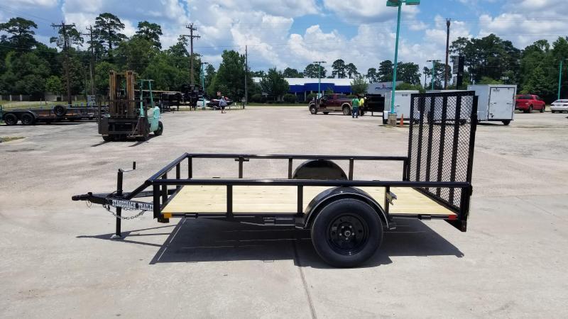 2020 Stagecoach SC72X10 S/A Utility Trailer