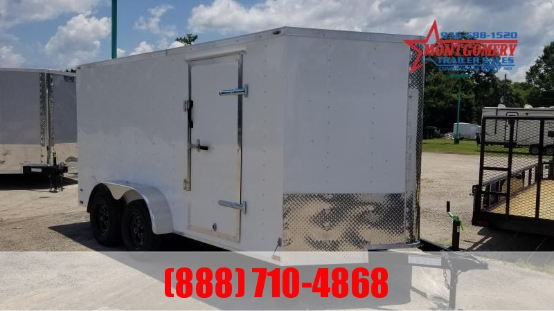 2021 Big Chief VT 7X14X6.5 7K Enclosed Cargo Trailer