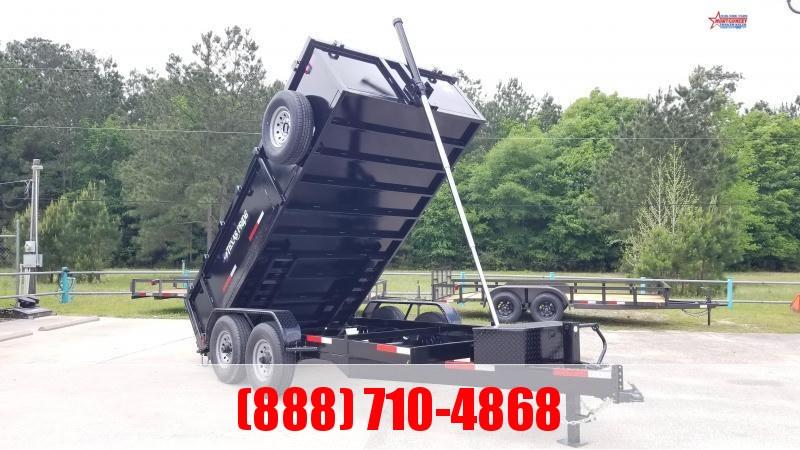 2020 Texas Pride Trailers 7' X 14' X 3' Special MSC Dump Trailer