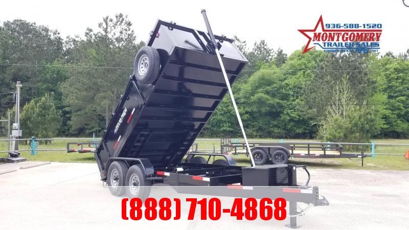 Texas Pride Trailers 7' X 14' X 3' Special MSC Dump Trailer