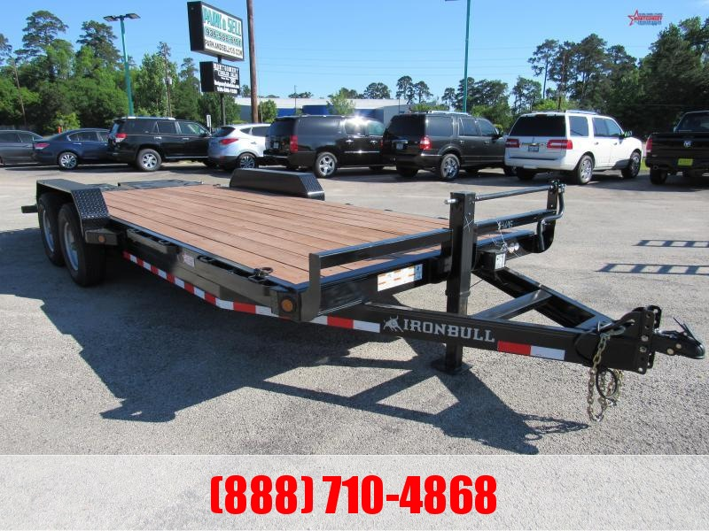 "2020 Iron Bull EXB 83"" X 20' Bumper Pull Equipment Trailer"