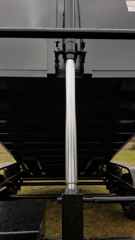 U.S. Built 7'X14'X4' 16K GOOSENECK DUMP Dump Trailer