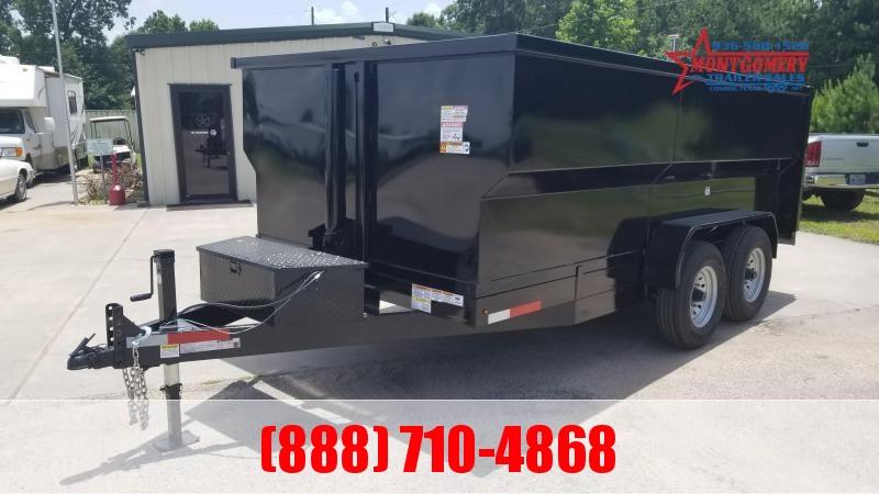U.S. Built 7X14X4 DUMP TRAILER BP 14K Dump Trailer