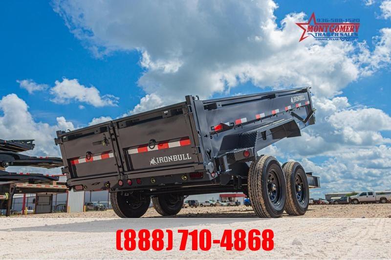 2021 Iron Bull DWB8314 Dump Trailer