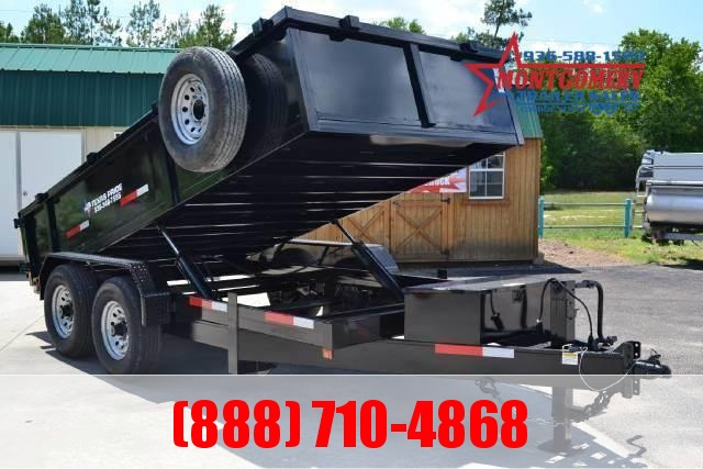 2021 TEXAS PRIDE 7ft. by 12ft. DUMP TRAILER