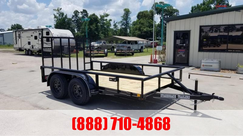 2020 Stagecoach SC77X12TA Utility Trailer