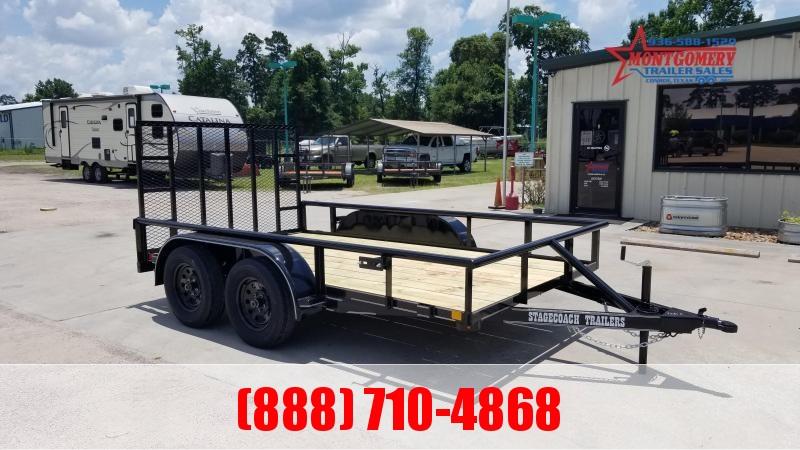 2021 Stagecoach SC77X12TA Utility Trailer