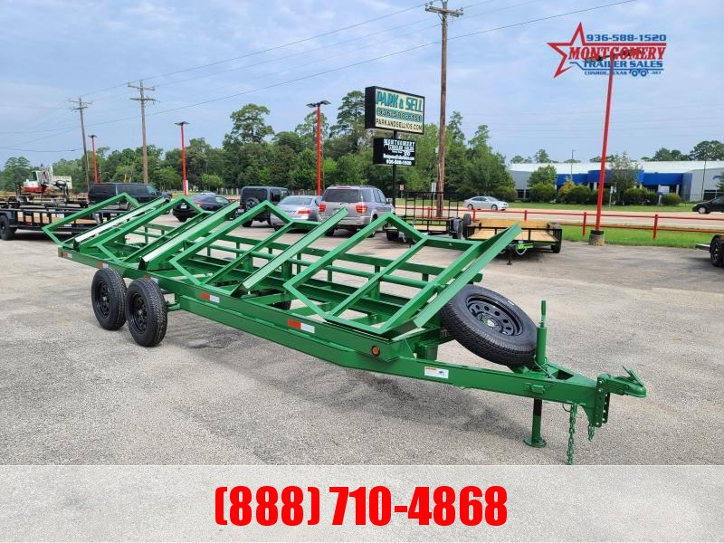 Chuys C5 Trailers 4 BALE HAULER Utility Trailer