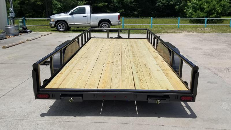 2020 Stagecoach SC83X18 SR Utility Trailer