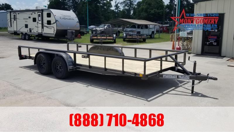 2021 Stagecoach SC83X18 SR Utility Trailer