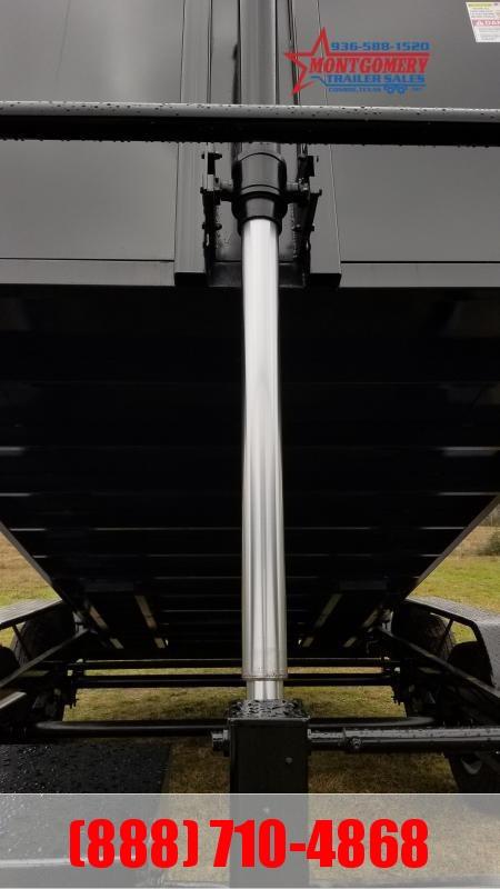 U.S. Built 7'X14'X4' 14K GOOSENECK DUMP Dump Trailer