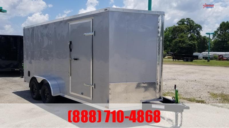 2020 Big Chief VT 7X16X6.5 7K Enclosed Cargo Trailer