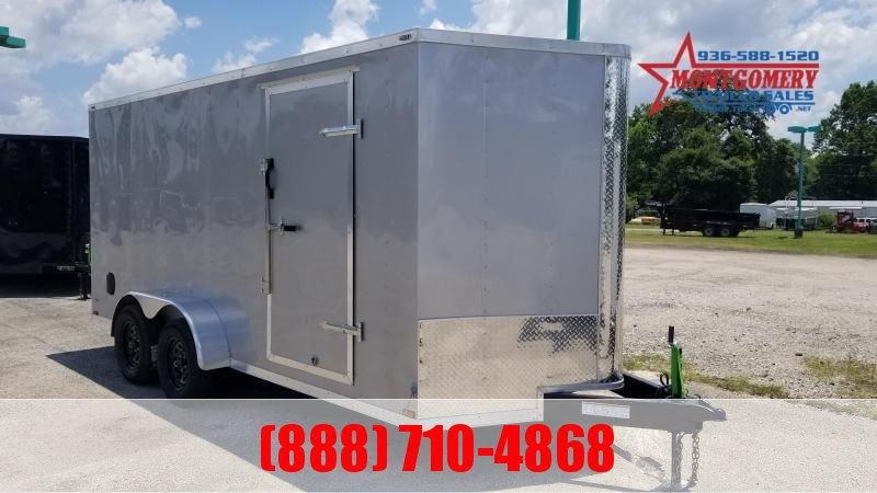 Big Chief VT 7X16X6.5 7K Enclosed Cargo Trailer