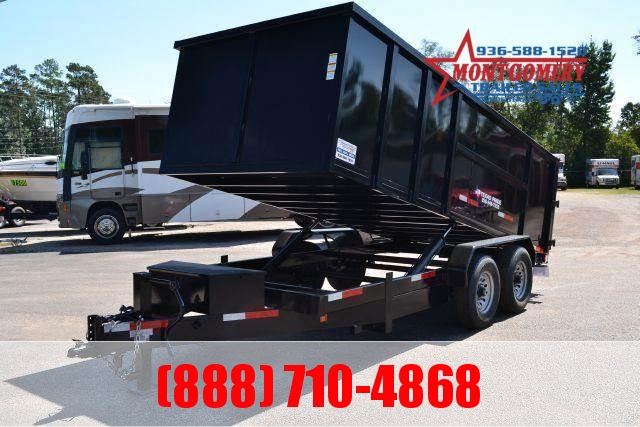 2020 TEXAS PRIDE 7' by 16' DUMP TRAILER