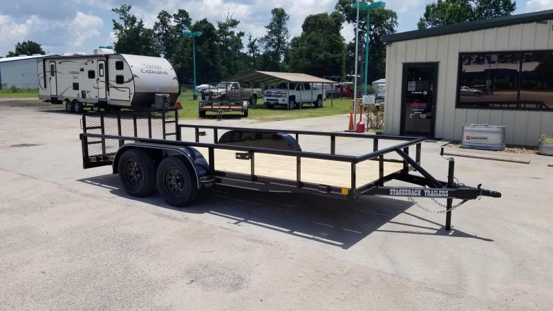 2020 Stagecoach SC77X16TA DTRG Utility Trailer