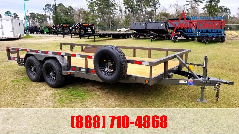 "2020 Chuys C5 Trailers LOWBOY 83""X18' Equipment Trailer"