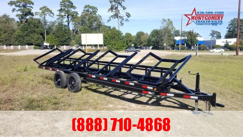 2021 Chuys C5 Trailers 4 BALE HAULER Utility Trailer