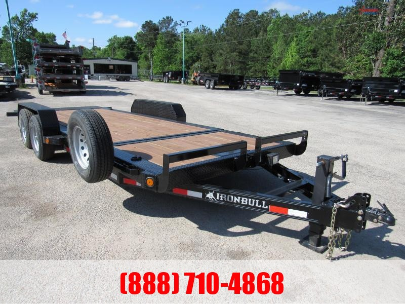 "2020 Iron Bull TLB 83"" X 20' TILT TRAILER Equipment Trailer"