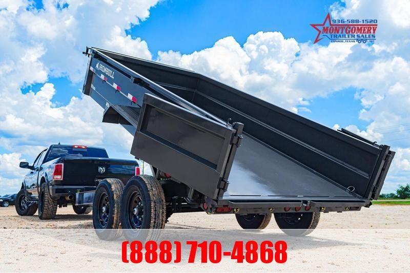 2022 Iron Bull DWB8314 Dump Trailer