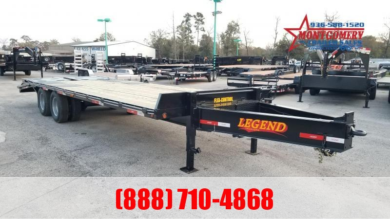 2020Legend Trailers 25DWT Flatbed Trailer