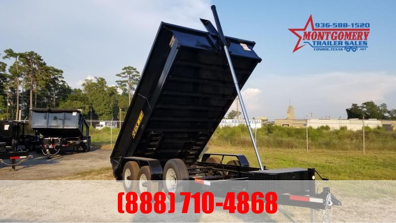 2021 U.S. Built 7X14X2 DUMP TRAILER BP 14K Dump Trailer