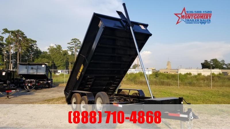 U.S. Built 7X14X2 DUMP TRAILER BP 14K Dump Trailer