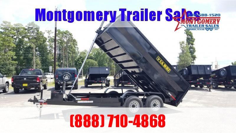 2021 U.S. Built 7X16X3 DUMP TRAILER BP 14K Dump Trailer