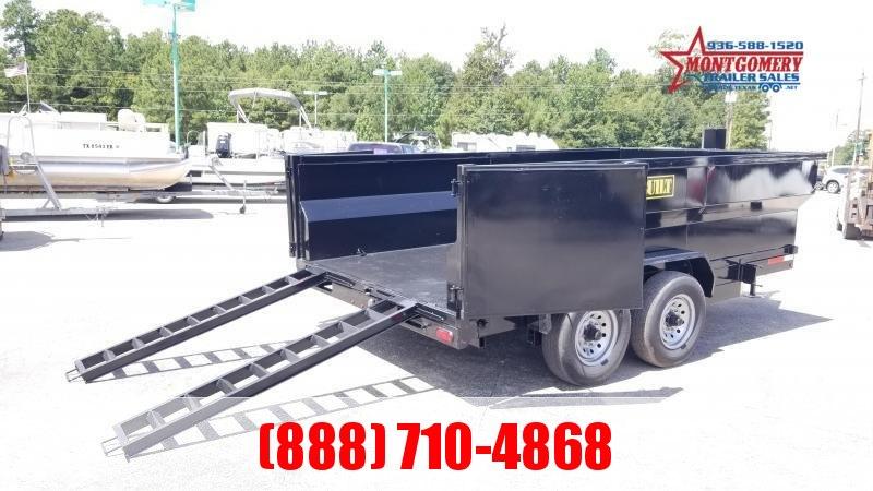 U.S. Built 7X16X3 DUMP TRAILER BP 14K Dump Trailer
